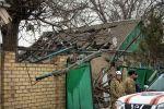 Взрыв в частном доме в Аламединском районе Бишкека