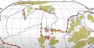 Геофизики опубликовали видео, на котором отобразили непрерывное движение тектонических плит Земли за последний миллиард лет.