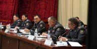 В МВД КР состоялось заседание коллегии министрества, где подвели итоги деятельности органов внутренних дел за 2020 год