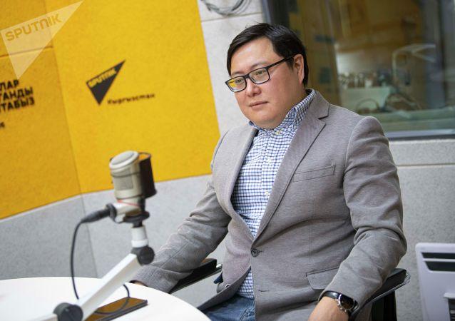 Бизнесмен Айбек Кыштобаев на радио Sputnik Кыргызстан