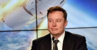 Американский предприниматель, основатель Tesla и SpaceX Илон Маск. Архивное фото