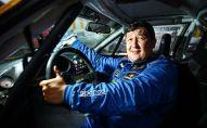 Профессиональный автогонщик Данас Азикеев, проживающий в Вильнюсе. Архивное фото