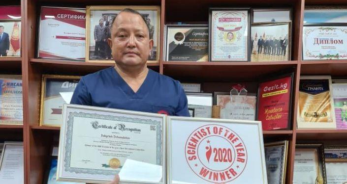 Руководитель БНИЦТиО Сабырбек Джумабеков признан победителем в номинации Ученый года — 2020 в области травматологии и ортопедии
