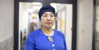 Эксперт по традиционным знаниям Чынара Сейдахматова в офисе Sputnik Кыргызстан