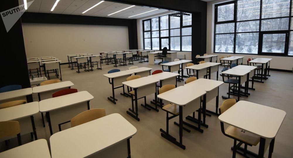 Аудитория учебного заведения. Архивное фото