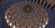 Бишкектеги борбордук мечиттин ички көрүнүшү. Архив