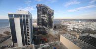 В Атлантик-Сити (штат Нью-Джерси, США) решением местных властей взорвали 39-этажное казино и отель Trump Plaza, в прошлом принадлежавшие экс-президенту Дональду Трампу.