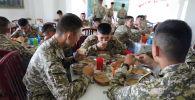 Военнослужащие срочной службы ВС КР
