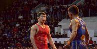 Грек-рим күрөшүнүн белгилүү балбаны Жоламан Шаршенбеков Кыргызстандын чемпионатынын финалында таанымал спортчу Калы Сулайманду жеңип алды.
