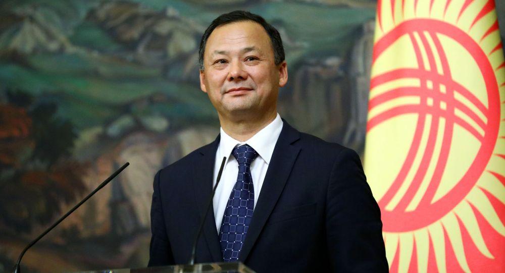 Министр иностранных дел КР Руслан Казакбаев