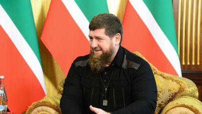 Чеченстандын президенти Рамзан Кадыров. Архив