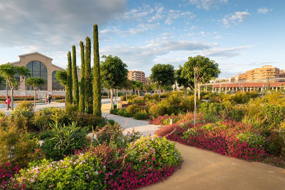 Фото Центральный парк Валенсии Ричарда Блума признали лучшим в категории Озеленение городов