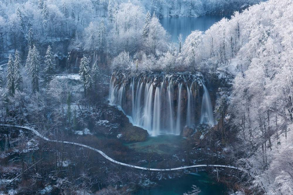 Фото Земля водопадов Луки Есенко из Словении признали лучшим в категории Дышащие пространства