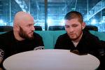 Боец MMA Магомед Исмаилов опубликовал на своем YouTube-канале интервью с чемпионом UFC в легком весе Хабибом Нурмагомедовым.