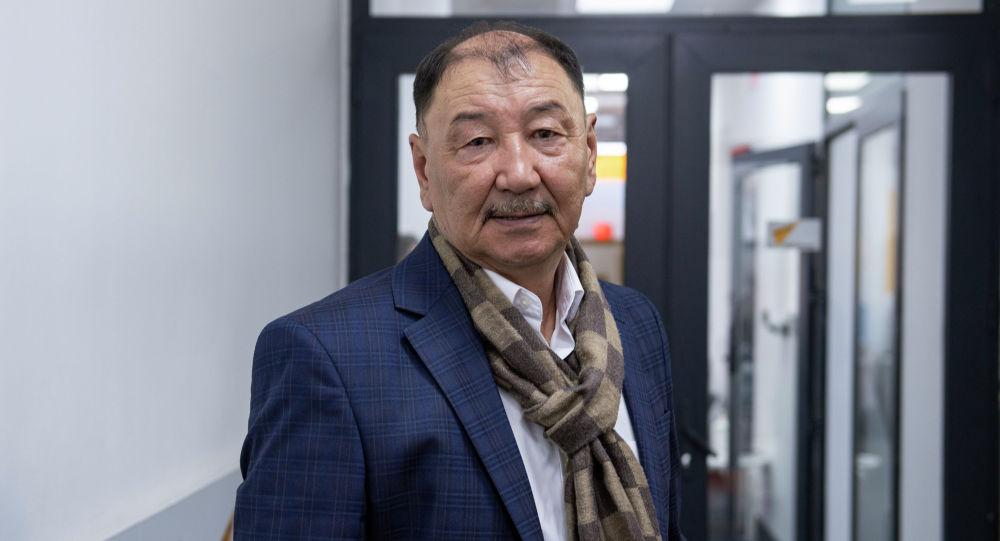 КРдин эл артисти, режиссер Эгемберди Чалабаев