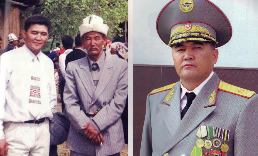 Председатель ГКНБ Камчыбек Ташиев и его отец Кыдырша Ташиев