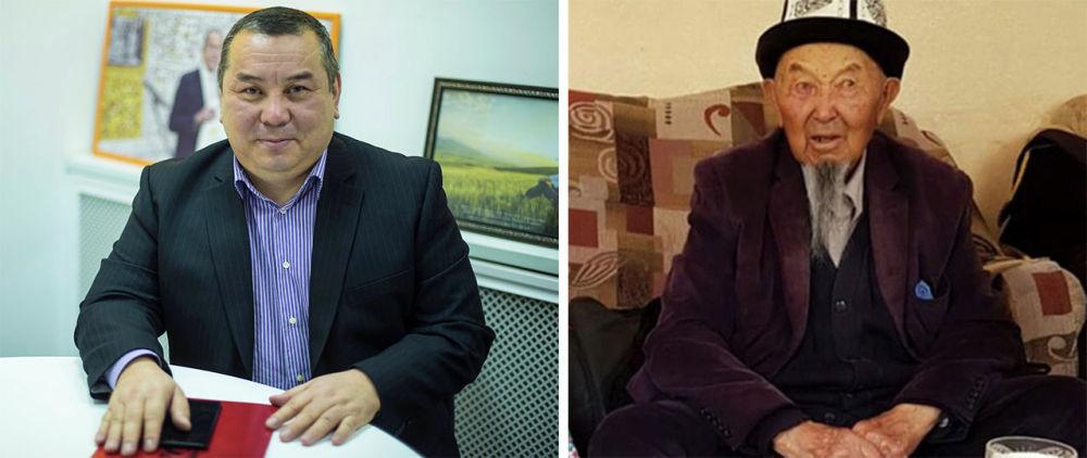 Отец бывшего и.о. мэра Балбака Тулобаева — Зарлык, родился в 1930 году, по профессии учитель
