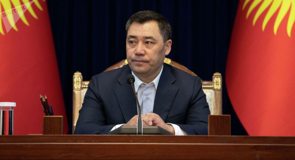 Президент Кыргызстна Садыр Жапаров. Архивное фото