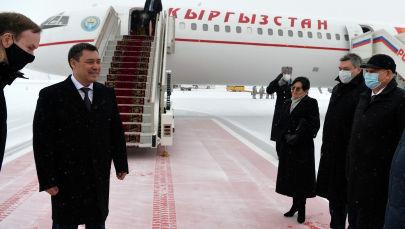 Президент Садыр Жапаров Москва шаарында