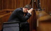 Мужчина на судебном заседании. Архивное фото