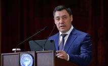 Президент КР Садыр Жапаров