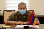 Глава Генерального штаба Армении Оник Гаспарян. Архивное фото