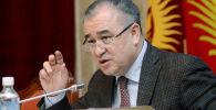Лидер партии Ата-Мекен Омурбек Текебаев. Архивное фото