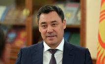 Архивное фото президента Кыргызской Республики Садыра Жапарова