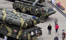 Пусковая установка зенитно-ракетной системы С-300. Архивное фото