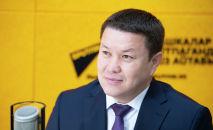 Жогорку Кеңештин төрагасы Талант Мамытов