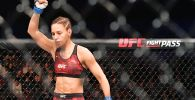 Антонина Шевченко перед началом боя в UFC. Архивное фото
