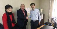 Назначение бильярдиста Каныбека Сагынбаева директором СДЮСШОР