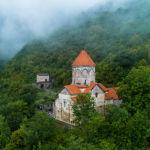 Монастырь Ваганаванк в семи километрах к западу от города Капан в Армении. Монастырь является усыпальницей сюникских царей и князей.