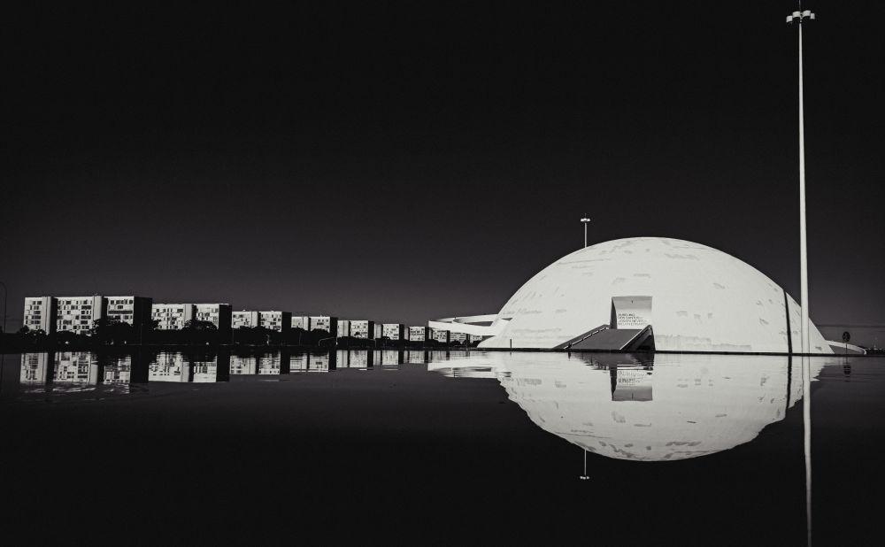Снимок Национального музея имени Онестино Гимараэса в Рио-де-Жанейро
