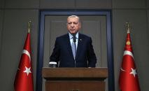 Президента Турции Реджеп Тайип Эрдоган. Архивное фото