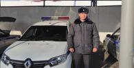 Старшина милиции Нурсейит Бекназар уулу, который служит в Службе охраны МВД сделал предупредительный выстрел в воздух при задержании четверых подозреваемых