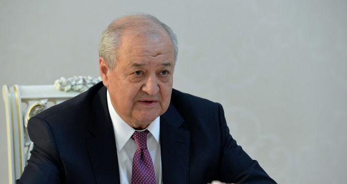 Министр иностранных дел Республики Узбекистан Абдулазиз Камилов, прибывший в КР с рабочим визитом