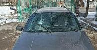 Авто марки Volkswagen Passat задержанного 52-летнего подозреваемого водителя, который сбил пешехода