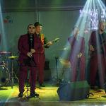 Атмосферу вечера задавала живая музыка в исполнении группы Kairos Band.
