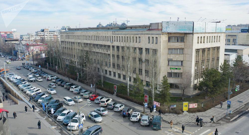 Улица Шопокова в Бишкеке. Архивное фото