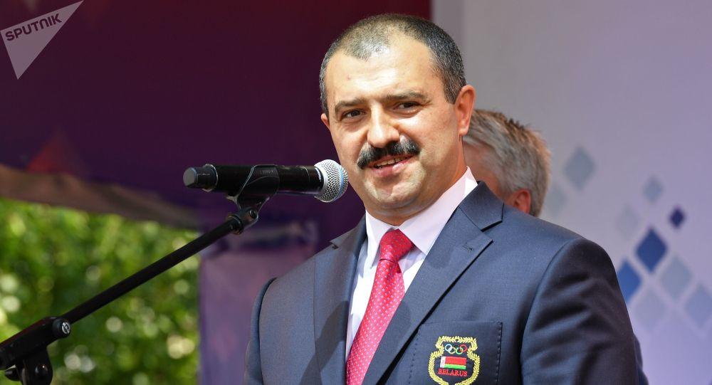 Сын президента Беларуси Александра Лукашенко Виктор Лукашенко. Архивное фото