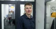 Генеральный директор издательства Аркус Иван Фадин в офисе Sputnik Кыргызстан