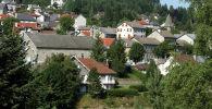 Деревня Ле Шамбон-сюр-Линьон на юге Франции. Архивное фото