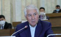 Депутат Мыктыбек Абдылдаев. Архивное фото