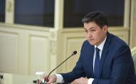 Премьер-министр Кыргызской Республики Улукбек Марипов в ходе рабочего совещания по обсуждению вопросов регулирования цен на лекарственные средства.