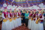 Большой концерт посвященный женщинам прошел в Бишкеке