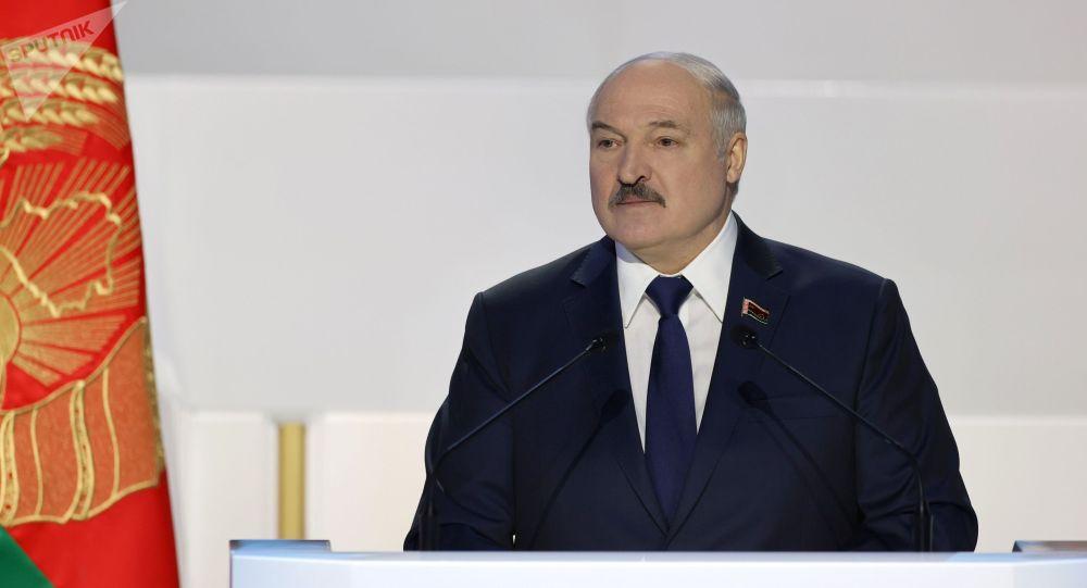 Беларусь лидери Александр Лукашенко. Архивдик сүрөт