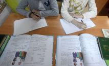 Школьники на уроке. Архивное фото