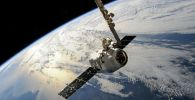 Вид на планету земля космоса. Иллюстративное фото