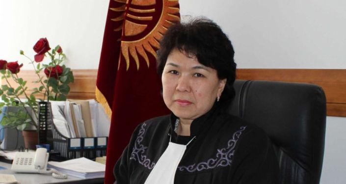 Судья Верховного суда КР Анархан Базаралиева